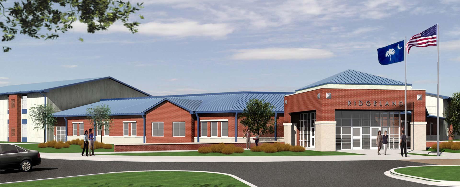 Ridgeland K 12 School Michael M Simpson Amp Associates