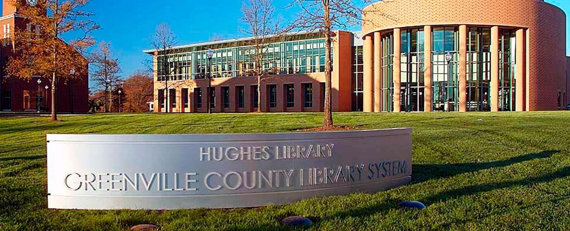 Hughes Main Library - Michael M. Simpson & Associates, Inc